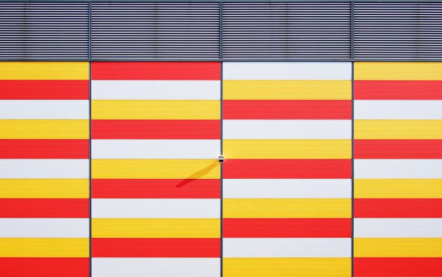 pared, color, colores, colorido, amarillo, rojo, textura, arquitectura, fondo, background, urbano, ciudad, nadie, cuadrado, rectangulo,