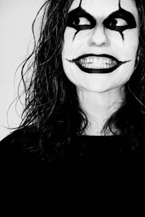 Imagen de mujer pintada foto gratis - Blanco y negro paint ...