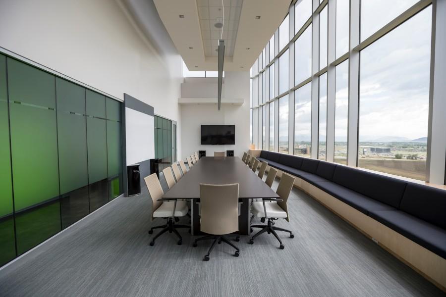 sala de reunion, mesa, negocios, nadie, sala de reuniones, vacio, empresa,