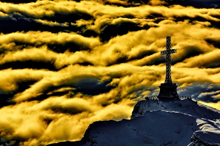 montaña, naturaleza, paisaje, paisaje de naturaleza, de viaje, al aire libre, punto de vista, paisaje de montaña, hermosa, paisajes, aventura, naturales, el turismo, pico, cima de la montaña, viaje de aventura, rumania, valle de prahova, cruz, cruz de héroes
