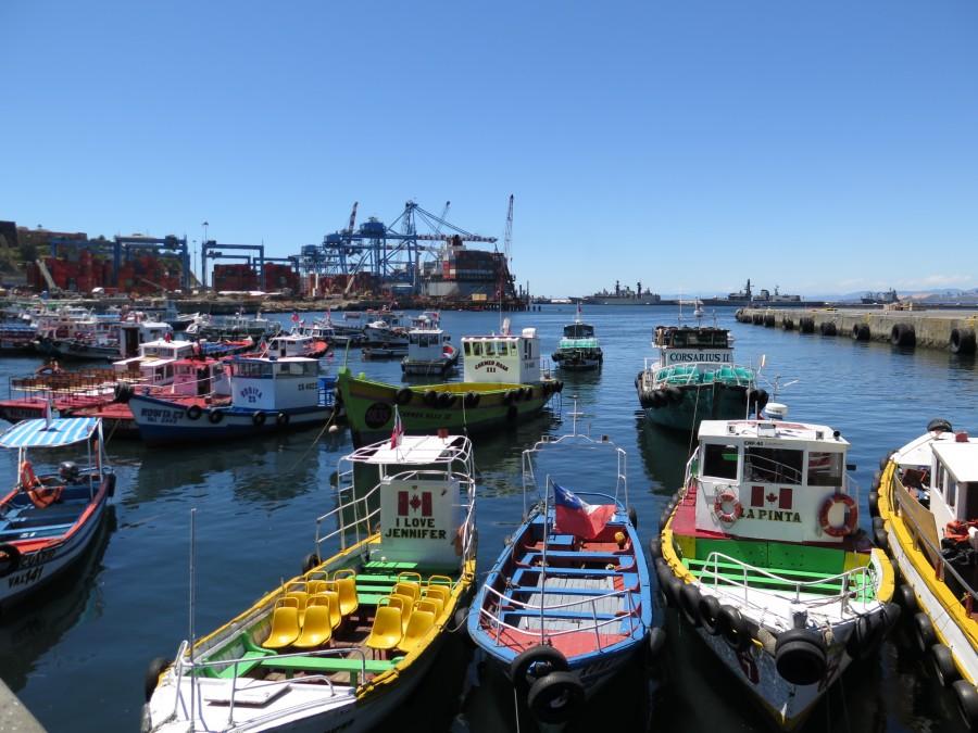 valparaiso, chile, puerto, costa, barco, barcos, pesquero, industria, america, latino, latina, embarcaciones, portuario,