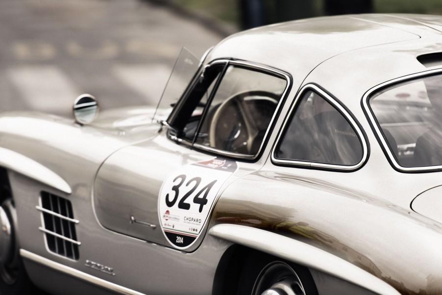 Mercedes Benz, auto, antiguo, coche, carro, coupe, deportivo, 60s, mil, millas, fondos de pantalla hd, fondos de pantalla 4k