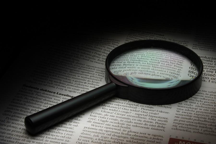 lupa, detalle, objeto, aumento, cristal, antiguo, aumentar, instrumento, herramienta, letra, letras, vision, libro, periodico, buscar, concepto,