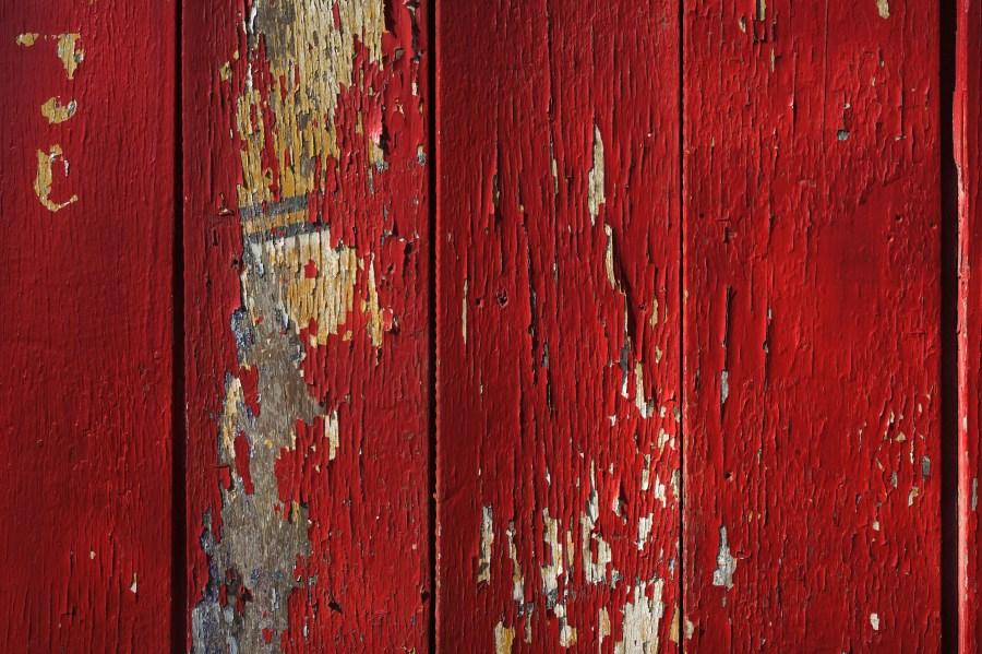 Fondo madera roja