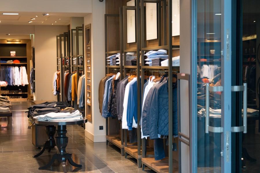 tienda, ropa, vestimenta, shopping, negocio, comercio, prendas, vestir, comprar, tienda, nadie,