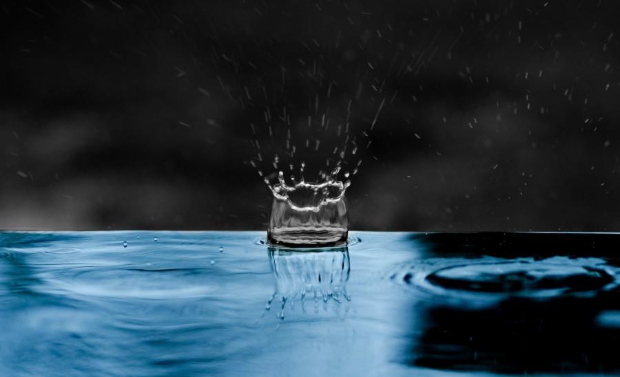 gota de agua, gota, splash, primer plano, detalle, liquido, lluvia,