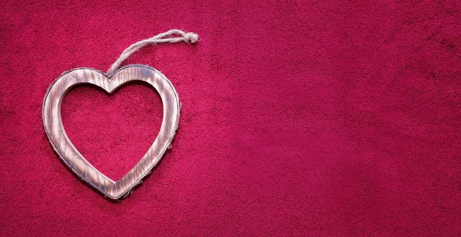 corazon, rojo, amor, accesorio, joya, colgante, joyeria,