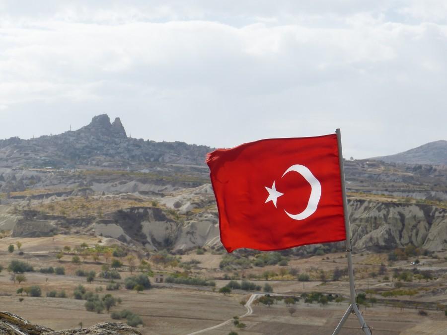 turquia, bandera, viajes, simbolo, bandera nacional, paises, nacion, textil, uchisar, cappadocia