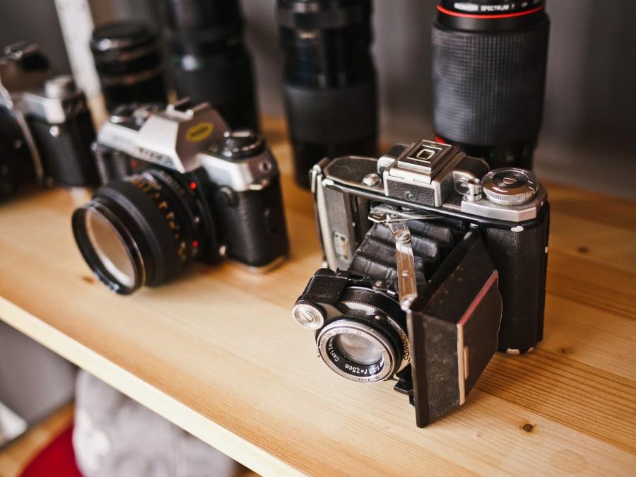 camara de fotos, camara, antiguo, antigua, vintage, fotografia,