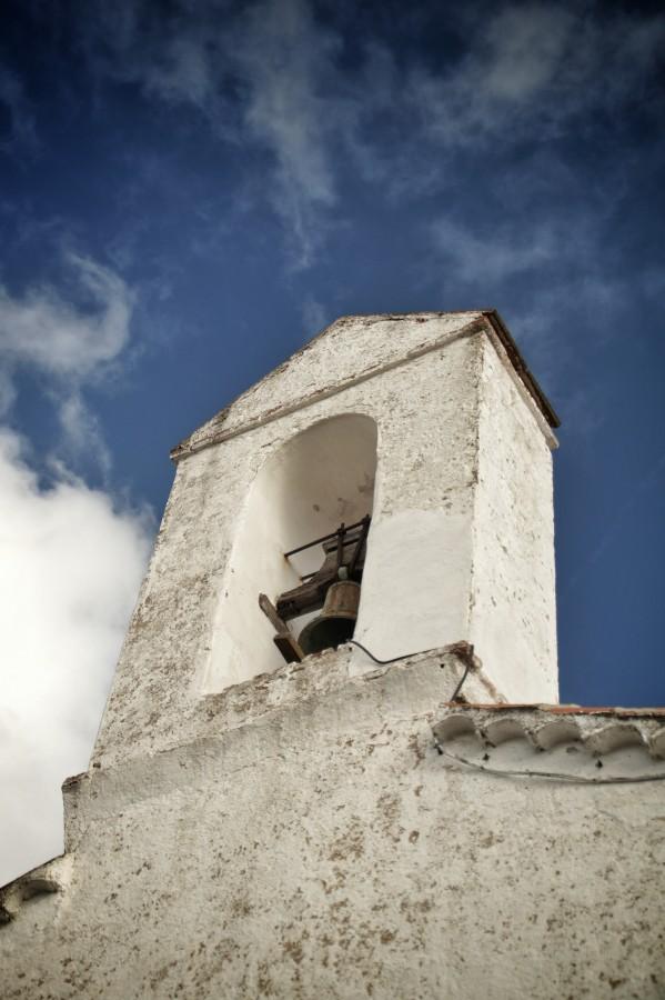 iglesia, campana, campanario, arquitectura, cielo azul, religion, nadie,