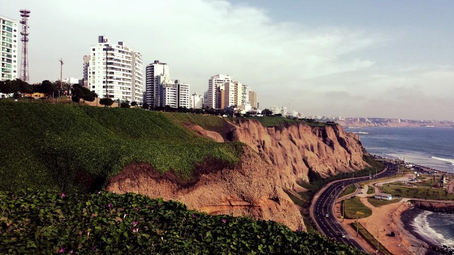 lima, peru, america del sur, america latina, parque del amor, costa, costanera, acantilado, oceano pacifico, autopista, ciudad,