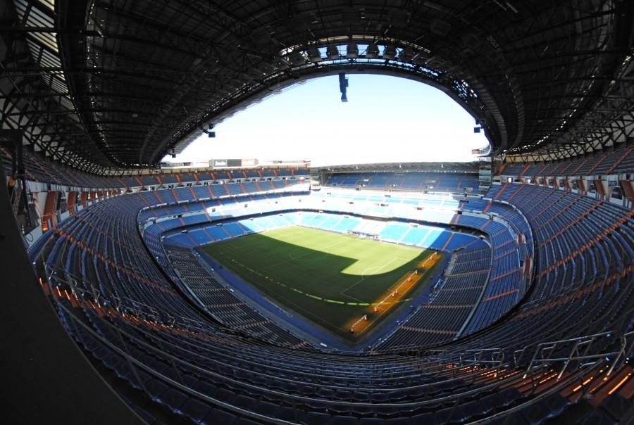 Estadio, futbol, deporte, interior, nadie, vacio, dia, arquitectura, Cancha,
