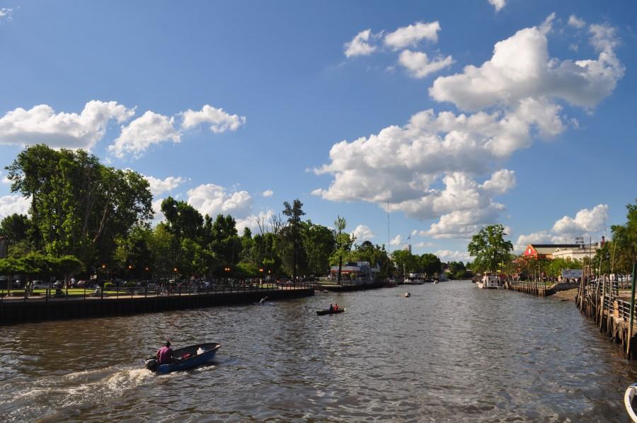 rio, tigre, buenos aires, argentina, paisaje, cielo, verano, lancha, ciudad, lugar turistico,