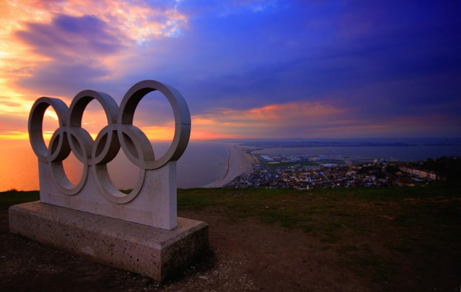 olimpiadas, anillos, deporte, olimpico, portland, oregon, usa, estados unidos,