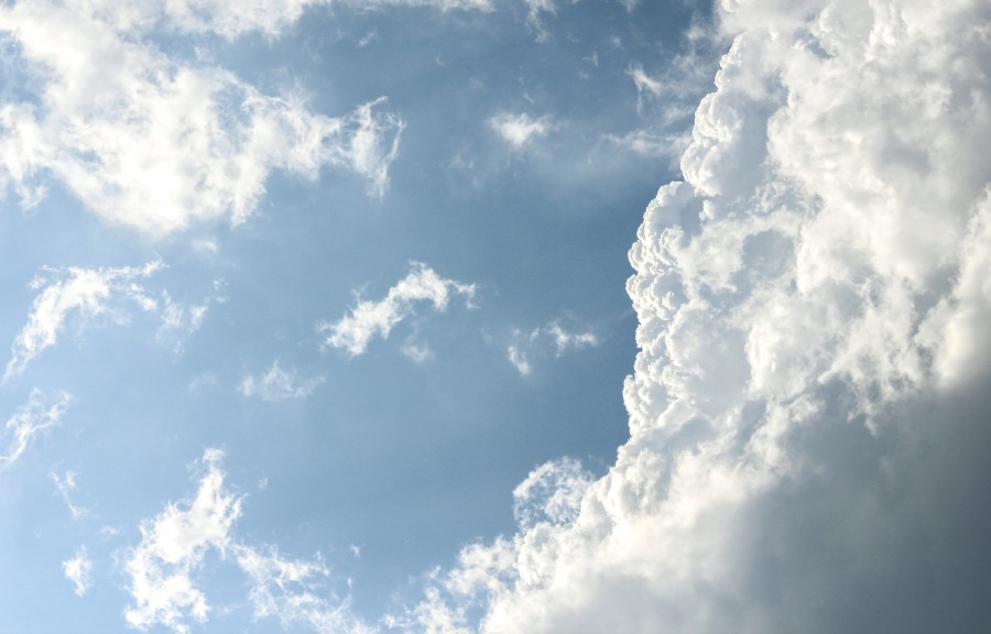 Fotos E Imagenes Cielo Azul Con Nubes: 【FOTO GRATIS】 100007977