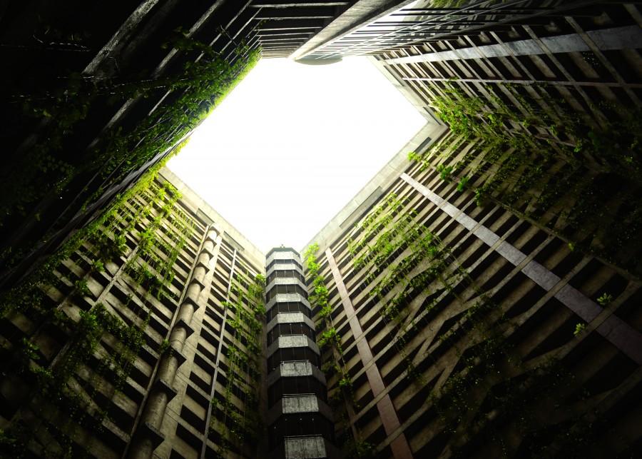 arquitectura, edificio, jardin, urbano, paisaje, interior, perspectiva,
