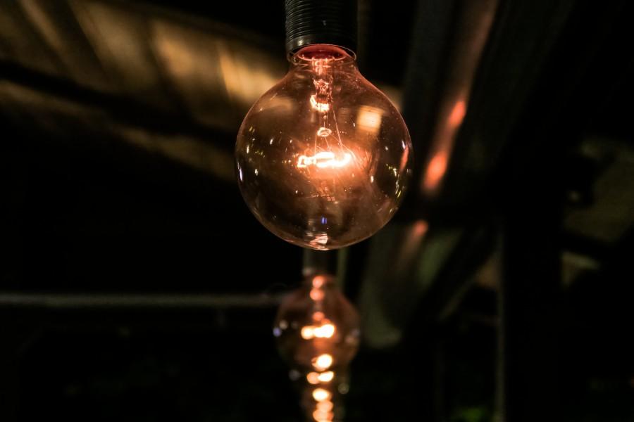 lampara, luz, lamparita, electricidad, iluminacion, oscuro, energia, idea,