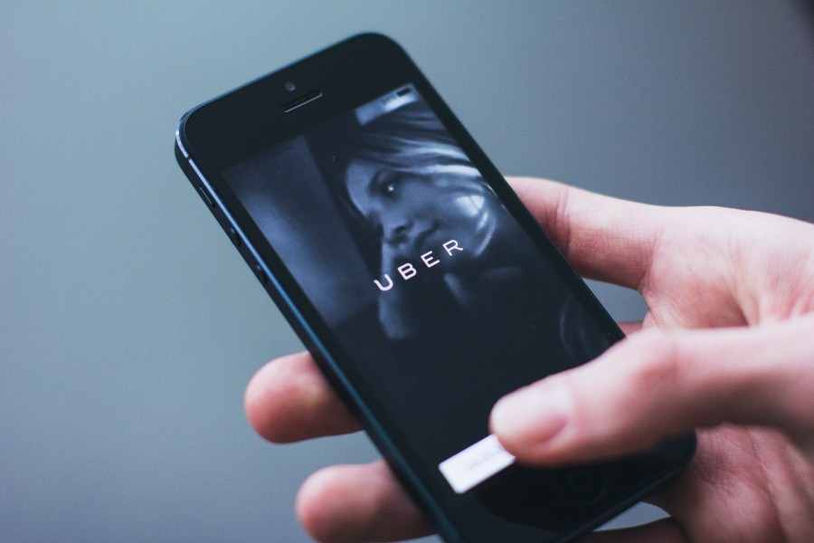app,  cab,  iphone,  smartphone,  taxi,  Uber, Aplicacion, Tecnologia,
