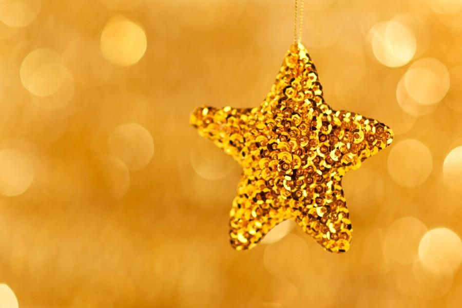 navidad, detalle, adorno, decoracion, celebracion, 2015, festejo, estrella, dorado,