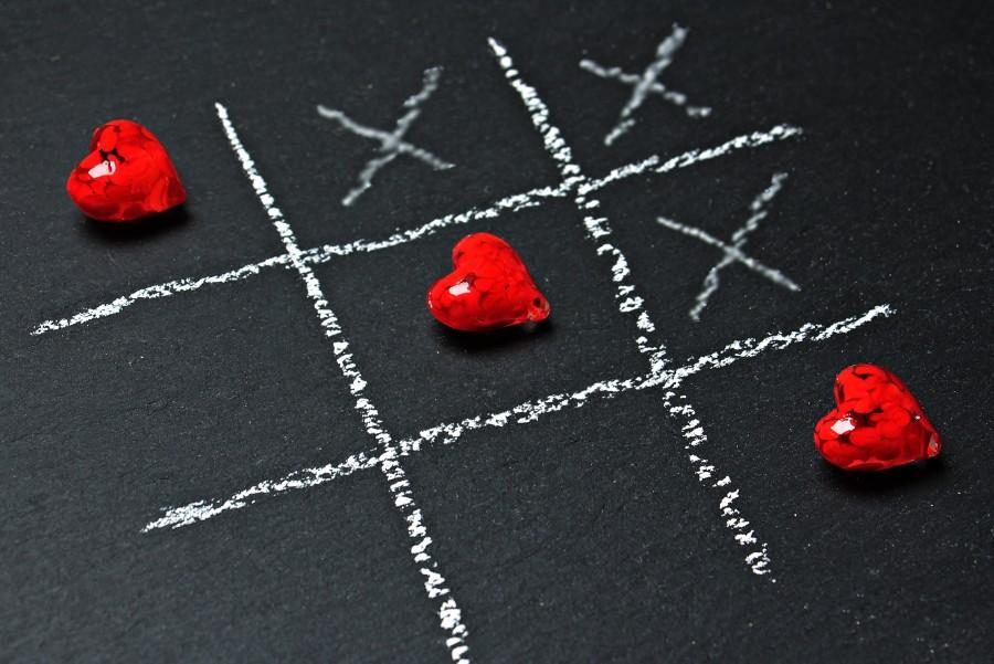 Imagen de Tres en raya de corazón para fondo de pantalla - 【FOTO GRATIS】 100010554