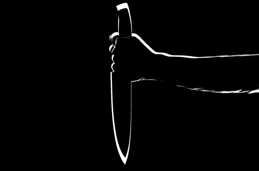 cuchillo, concepto, matar, asesino, asesinar, muerte, miedo, fondo negro, cuchilla,