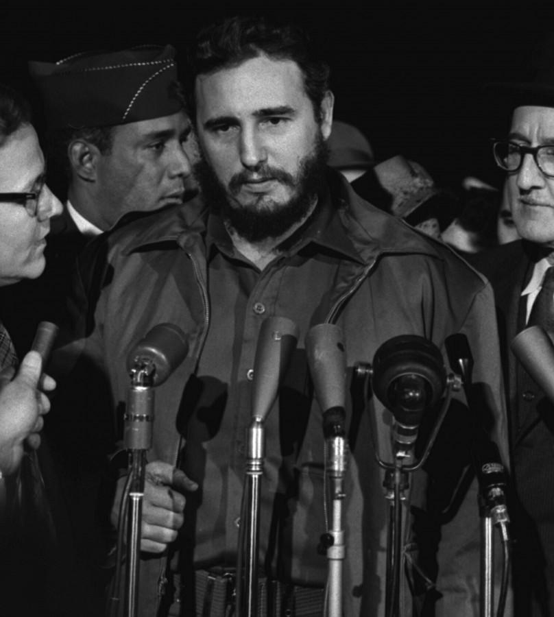 cuba, castro,  tierra, revolucionario, 1959, fidel alejandro castro ruz, presidente, político, comunismo, primer, blanco y negro, retrato, fidel castro, muerte,