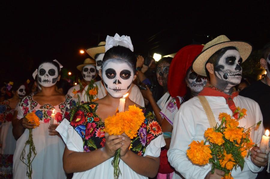 dia de los muertos, mexico, mexicano, america, muerte, festejo, celebracion, maquillaje, mascara,