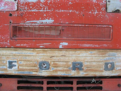 imágenes gratis Frente de Camion Oxidado