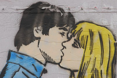 imágenes gratis Graffiti de amor