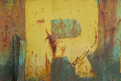 imágenes gratis vista de frente,oxido,oxidado,letra,letras,metal,