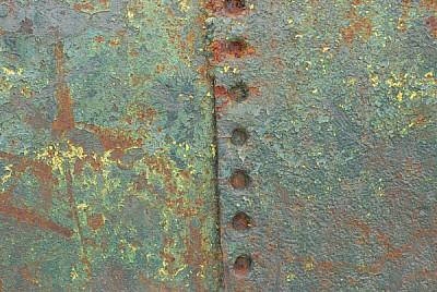oxido,oxidado,vista de frente,metal,paso del tiemp