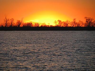 rio parana,parana,paisaje,atardecer,ocaso,puesta d