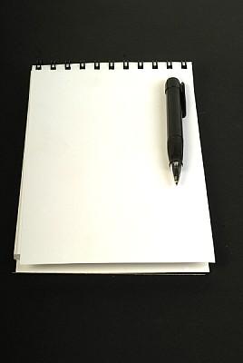 imágenes gratis prod03,anotador,agenda,blanco,lapicera,boligrafo,o