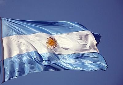 imágenes gratis prod04,bandera,vista de frente,argentina,cielo azu