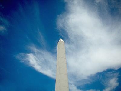 imágenes gratis Obelisco en Buenos Aires Cielo Celeste