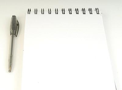 prod04,block,anotador,agenda,blanco,lapiz,vista de