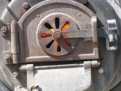 Tapa de Caldera de hierro
