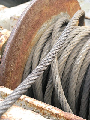 soga,hierro,metal,cuerda,gancho,malacate,fuerza,en