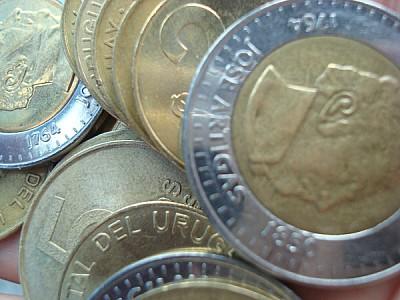 Monedas de Peso Uruguayo