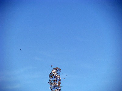 agua,splash de agua,splash,cielo azul,vista de aba