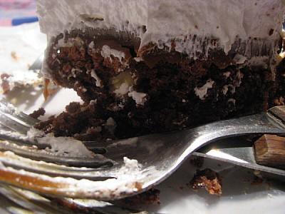 imágenes gratis prod06,torta,postre,chocolate,crema,vista de frent