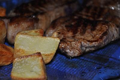 imágenes gratis ,prodjune2010,carne,comida,papas,horno,asado,patat