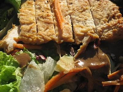 imágenes gratis ,ensalada,pollo,comida,sano,sana,nutritivo,nutriti