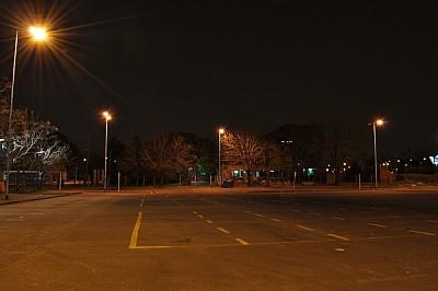 imágenes gratis noche, calle, desierto, edificio, ciudad, nadie, h