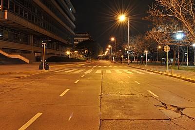 imágenes gratis noche, calle, desierto, ciudad, nadie, horizontal,