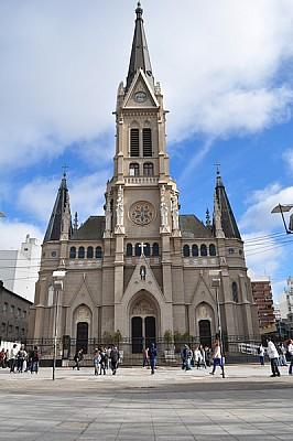 exterior, iglesia, de dia, artitectura, vertical,