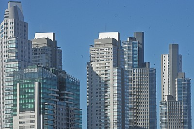 Edificios en Puerto Madero, Buenos Aires