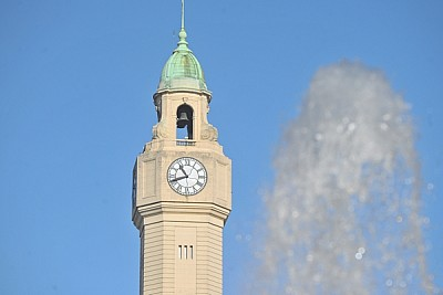 imágenes gratis cupula, edificio, ciudad, buenos aires, reloj, agu