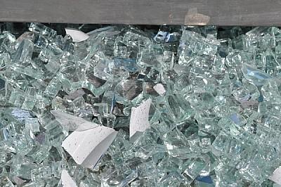 cristales, exterior, rotos, añicos, cortante, viol