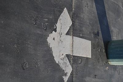 señal de transito, flecha, direccion, transito, ca